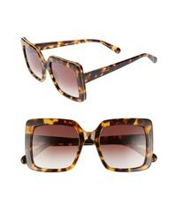 Stella McCartney 53mm Square Sunglasses