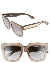 Givenchy 53mm Sunglasses Mud Beige Grey