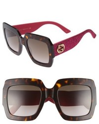 Gucci 54mm Square Sunglasses