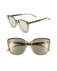 Bottega Veneta 54mm Sunglasses