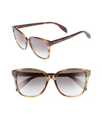 Alexander McQueen 56mm Sunglasses