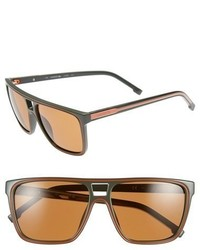 Lacoste 58mm Aviator Sunglasses