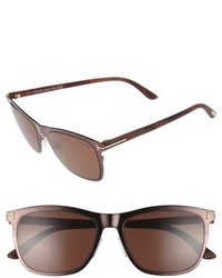Alasdhair 55mm sunglasses shiny dark brown roviex medium 4949270