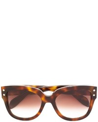 Alexander McQueen Round Frame Sunglasses