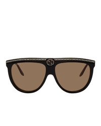 Gucci Black Flat Top Sunglasses