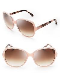 Bobbi Brown Lola Round Oversized Sunglasses