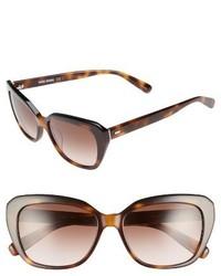 Bobbi Brown Bobbie Brown The Koko 55mm Cat Eye Sunglasses Black