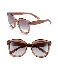 Bottega Veneta 53mm Sunglasses Brown One Size