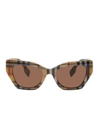 Burberry Brown Acetate Cressy Sunglasses