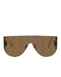 Fendi Brown Forever Fabulous 20 Sunglasses