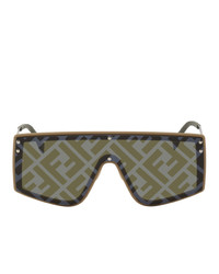 Fendi Brown Forever Lens Sunglasses