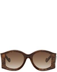 Loewe Brown Paulas Ibiza Large Sunglasses