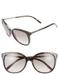 Burberry 57mm Sunglasses Black