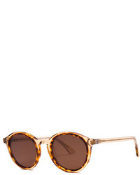 Thierry Lasry Buttery Round Transparent Sunglasses