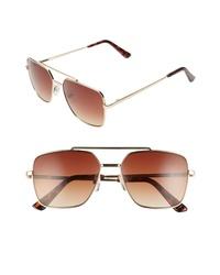 BP. Charles 57mm Navigator Sunglasses