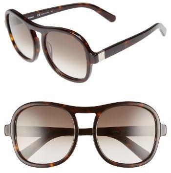 ef27daacdc86 ... Chloé Chloe Marlow 56mm Gradient Lens Sunglasses ...