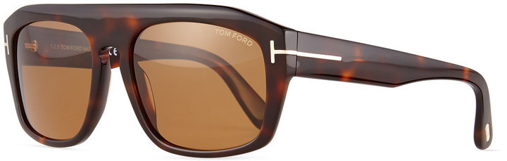 0ec07e035aa ... Neiman Marcus › Tom Ford › Brown Sunglasses Tom Ford Conrad Shiny Havana  Sunglasses Brown ...