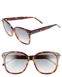 Jimmy Choo Demas 56mm Sunglasses Havana