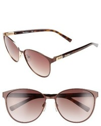 Max Mara Diamov 59mm Gradient Cat Eye Sunglasses
