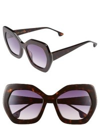Dinah 55mm butterfly sunglasses black white medium 3692296