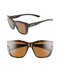 Smith Dreamline 62mm Oversize Butterfly Chromapop Polarized Sunglasses