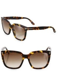 Tom Ford Eyewear Amarra 55mm Square Sunglasses