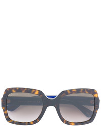 Gucci Eyewear Oversized Tortoiseshell Sunglasses
