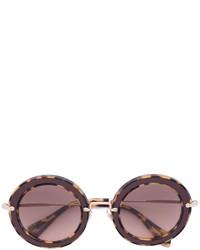 Miu Miu Eyewear Round Frame Sunglasses