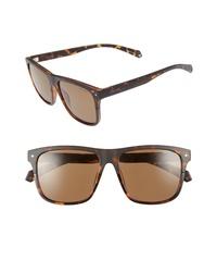 Polaroid Eyewear Flat Top 56mm Polarized Sunglasses