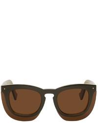 Grey Ant Green Inbox Sunglasses