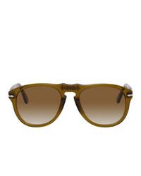 A.P.C. Green Persol Edition 649 Sunglasses