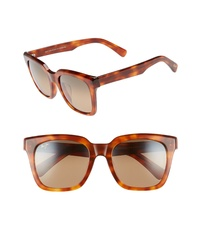 Maui Jim Heliconia 53mm Polarizedplus2 Square Sunglasses