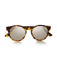 Le Specs Hey Macarena Round Frame Acetate Sunglasses