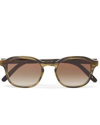 Dick Moby Lisbon D Frame Tortoiseshell Acetate Sunglasses