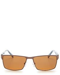 Ted Baker London Square Polarized Sunglasses