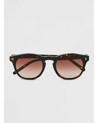 Topman Ltd X Eye Respect Revo Matt Tortoise Shell Sunglasses