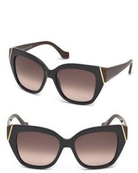 Balenciaga Marcolin 57mm Oversize Geometric Sunglasses