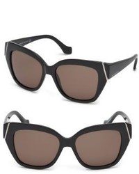 Balenciaga Marcolin 57mm Oversized Square Sunglasses
