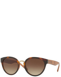 Burberry Mirrored Cat Eye Sunglasses