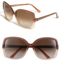 06a0174671 Kate Spade New York Darryl 59mm Sunglasses Brown Grey