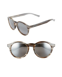 Maui Jim Pineapple 50mm Polarized Round Sunglasses