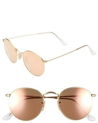 Ray-Ban Icon 50mm Sunglasses Brownpink
