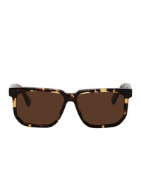Bottega Veneta Rectangular Angular Sunglasses