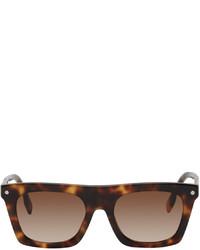 Burberry Rectangular Frame Sunglasses