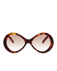 Chloé Retro Oval Sunglasses