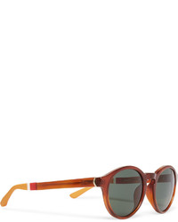 Orlebar Brown Round Frame Acetate Sunglasses