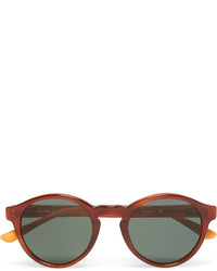 Orlebar Brown Round Frame Acetate Sunglasses
