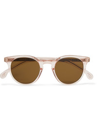 Paul Smith Round Frame Acetate Sunglasses