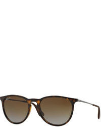 Ray-Ban Round Metal Sunglasses Havana