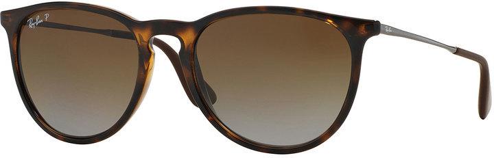 Ray-Ban Round Metal Sunglasses Havana